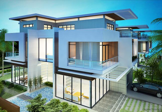 Xây dựng công trình nhà biệt thự