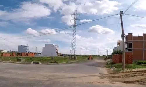 Đất nhà phố tại xã vùng ven khu Nam Sài Gòn lên đến 30tr/m2