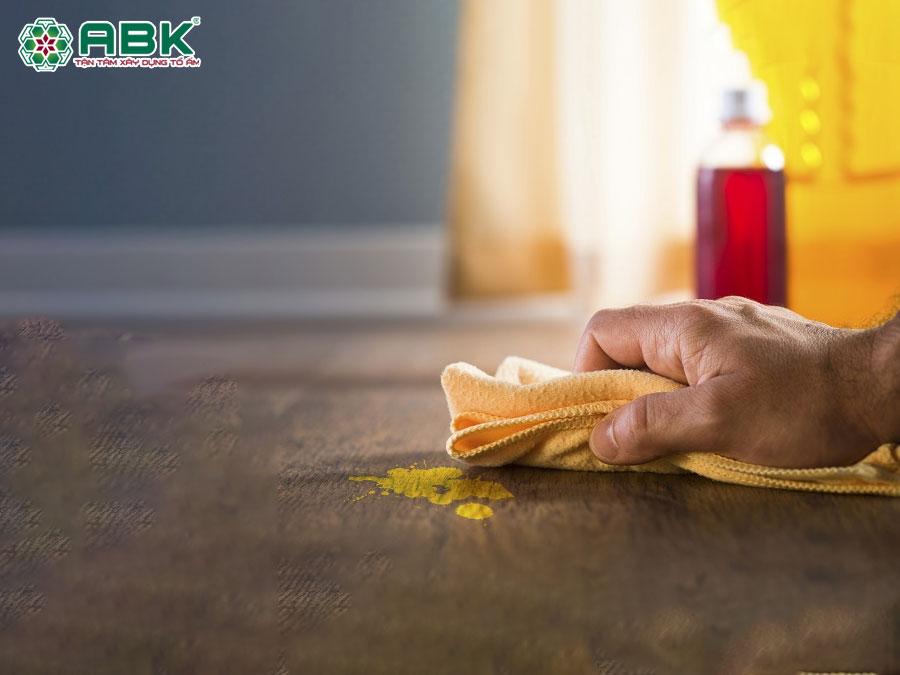 Bí kíp làm sạch sàn nhà khi mới sơn tường